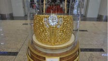 World's largest golden ring is on display in Sharjah