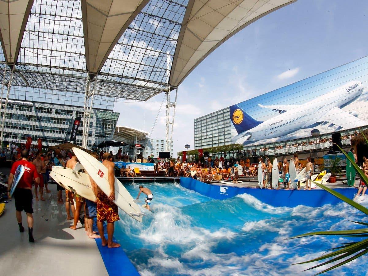 مطار ميونخ في ألمانيا