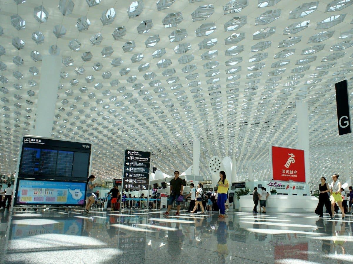 مطار شينزون باوون الدولي في الصين