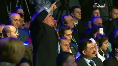 فيديو من سوتشي.. قاطعوا لافروف واحتجوا على جرائم بلاده