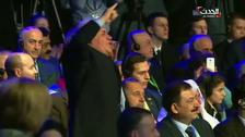 WATCH: Syrian opposition yell anti-Russian slurs at Lavrov during Sochi talks