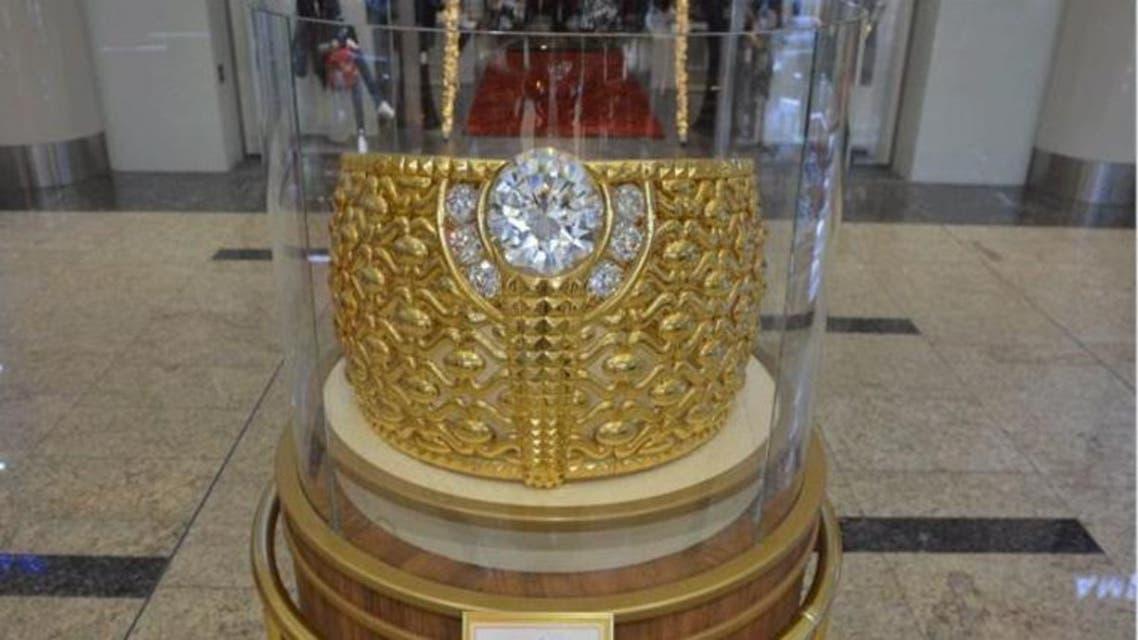 أكبر خاتم ذهبي