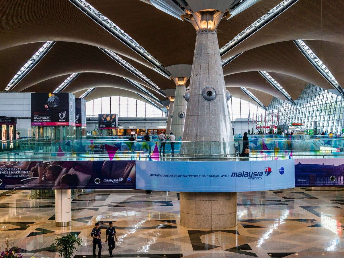 مطار كوالالمبور الدولي في ماليزيا