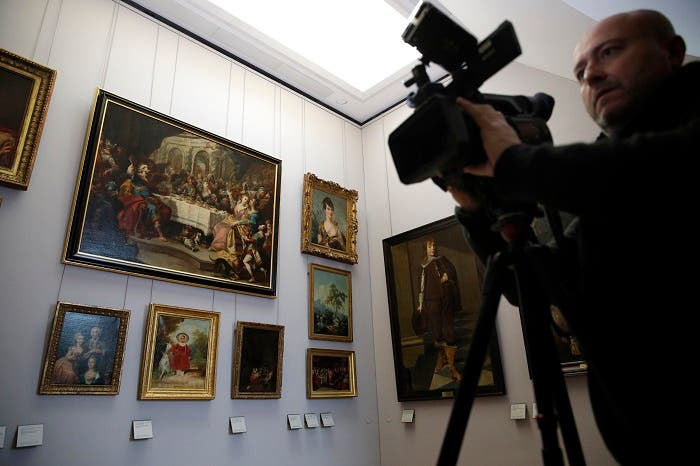 In a move aimed at returning work of art looted by Nazis during World War II, the Louvre museum has opened two showrooms with 31 paintings on display which can be claimed by their legitimate owners. (AP)
