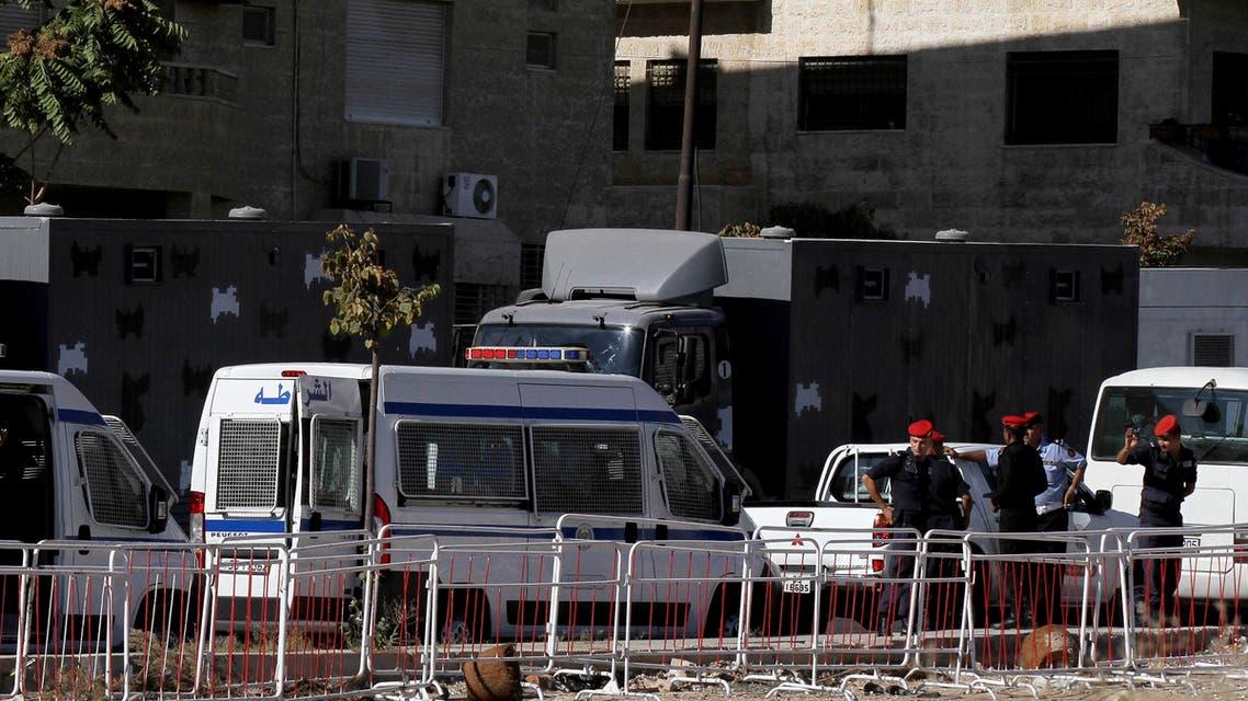 Israeli embassy amman. (AP)