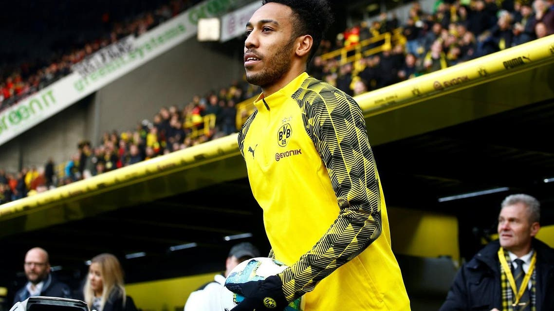 signing striker Pierre-Emerick Aubameyang from Borussia Dortmund on a long-term contrac