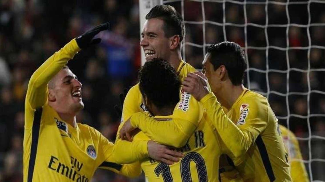 پاریسن ژرمن برای پنجمین بار متوالی به فینال جام حذفی فرانسه راه یافت
