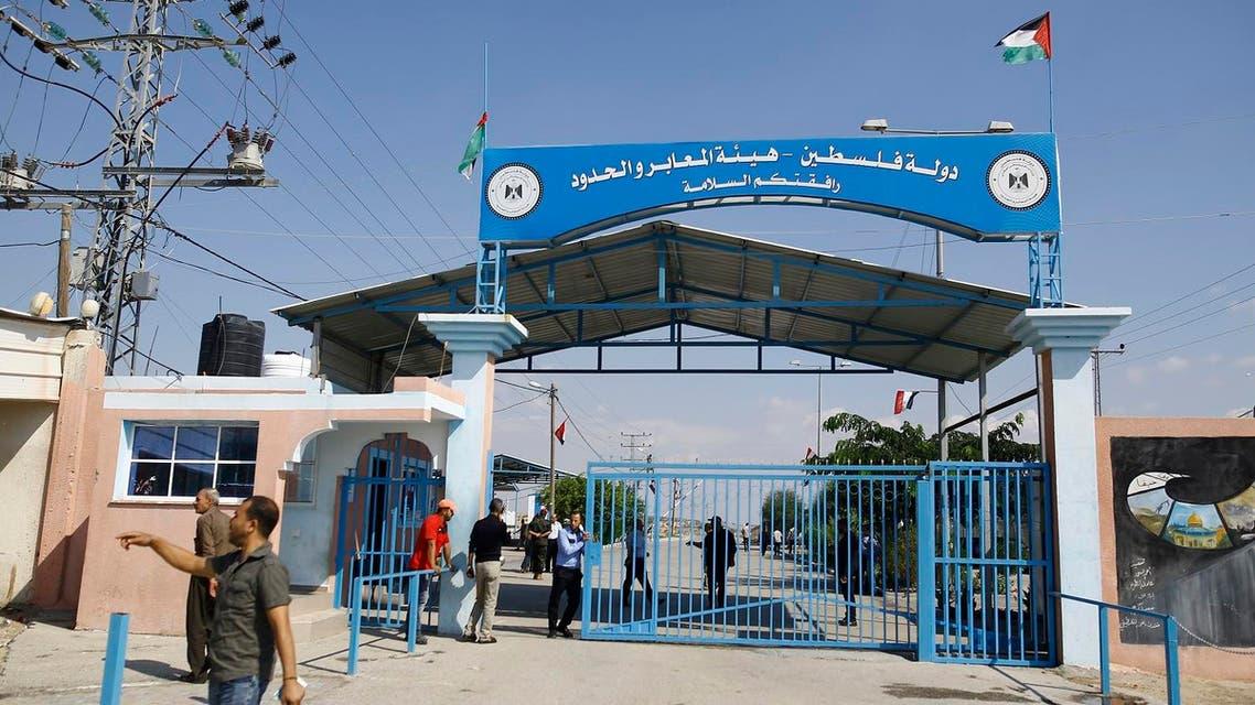 erez border gaza AFP