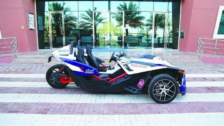 Dubai Unveils Super Bike Ambulance With Speed Of Sports Car