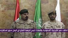سعودی عرب اور امارات کے اعلیٰ اختیاراتی فوجی وفد کا دورہ عدن