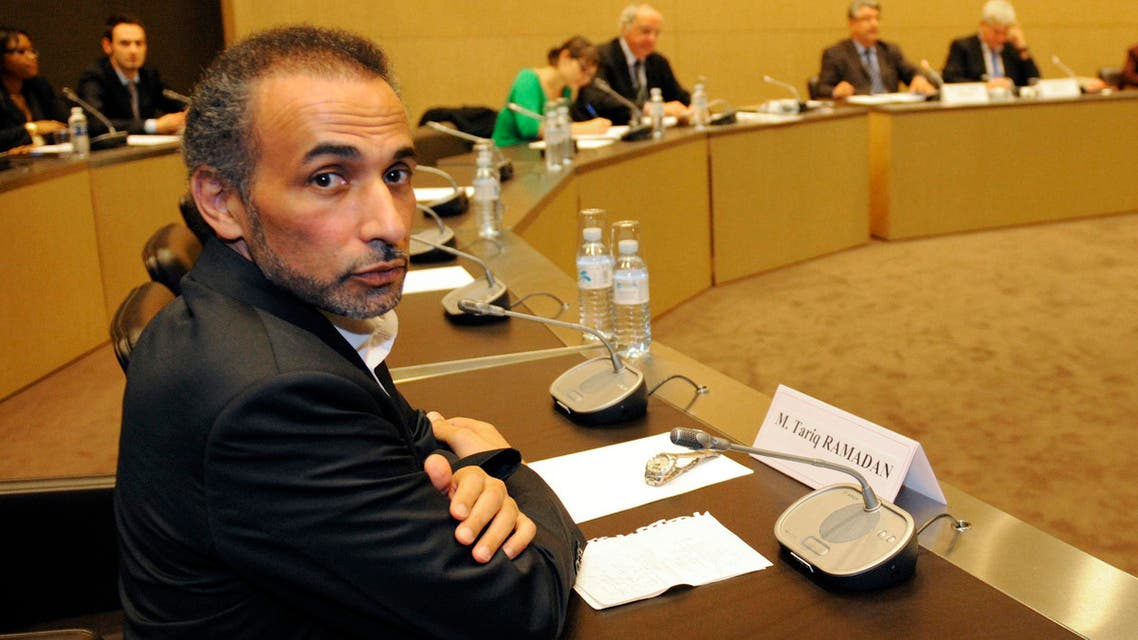 Tariq Ramadan attends a French parliamentary hearing at the National Assembly in Paris on December 2, 2009. (Reuters)