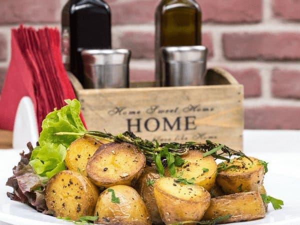 البطاطس المطهوة