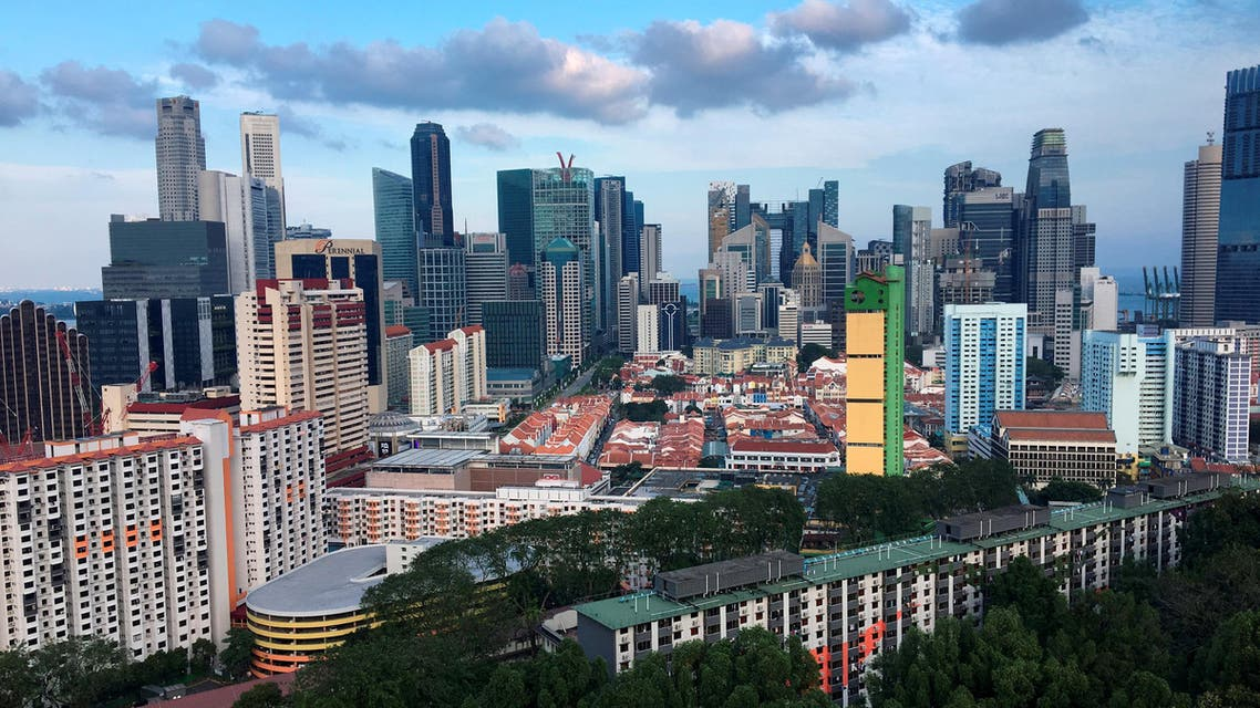 FILE PHOTO: A view of the skyline of Singapore March 26, 2017. REUTERS/Woo Yiming/File Photo
