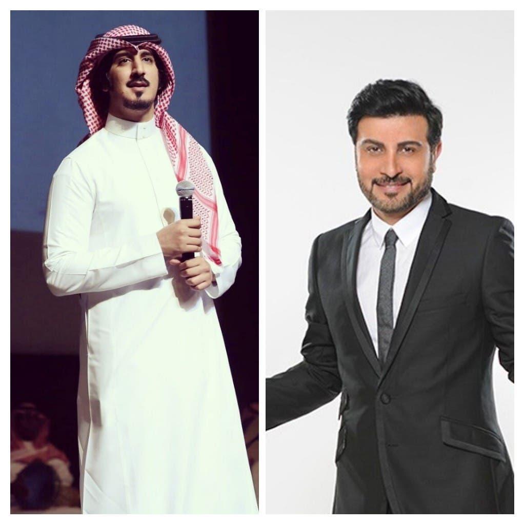 ماجد المهندس وعبدالله عبدالعزيز