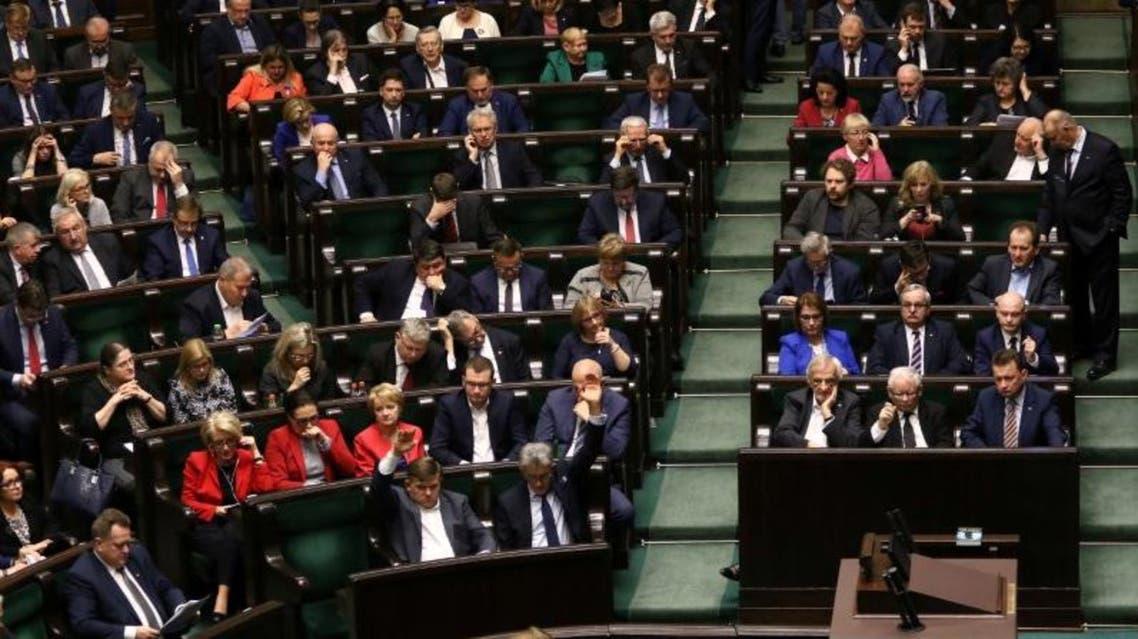 جلسة لـ البرلمان البولندي