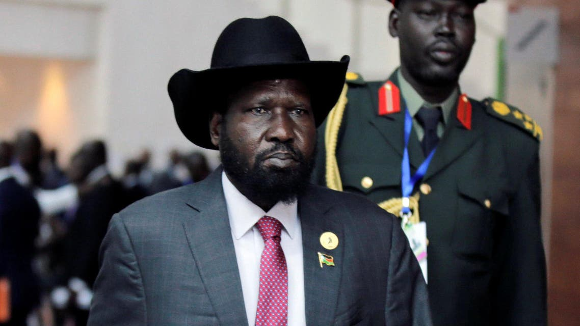 South Sudan's President Salva Kiir Mayardit arrives for the 30th Ordinary Session of the Assembly of the Heads of State and the Government of the African Union in Addis Ababa, Ethiopia January 29, 2018. REUTERS/Tiksa Negeri