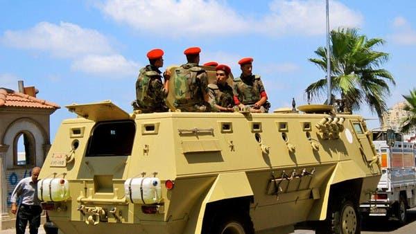 """عناصر من القوات المصرية في سيناء """"أرشيفية"""""""