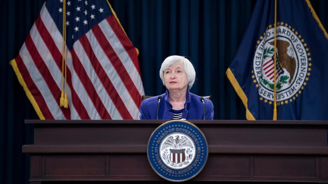 Federal Reserve Chair Janet Yellen, the first woman to have led the world's most powerful central bank, left her post on Saturday and will be replaced on Monday by Jerome Powell. (AFP)