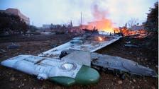 شاهد.. إسقاط مقاتلة روسية في إدلب ومقتل الطيار