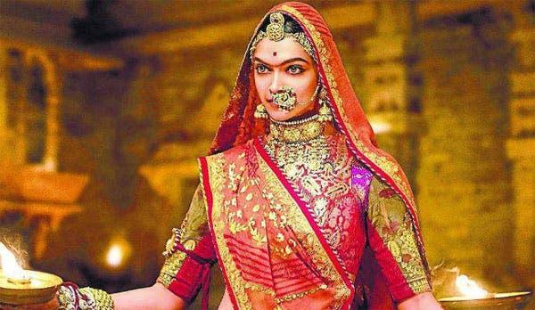 دیپیکا پادوکان در نقش پادمینی ملکه هند