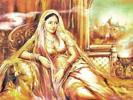پادمینی ملکه راجپوت هند