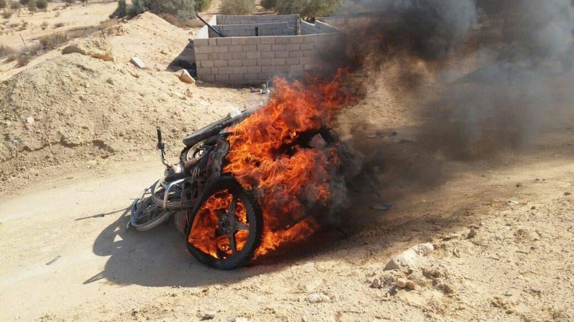 أوكار الإرهابيين سيناء