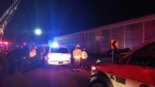 South Carolina train crash leaves at least 2 dead, 80 hurt