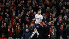 Kane's last-gasp penalty denies Liverpool victory after Mohamed Salah double
