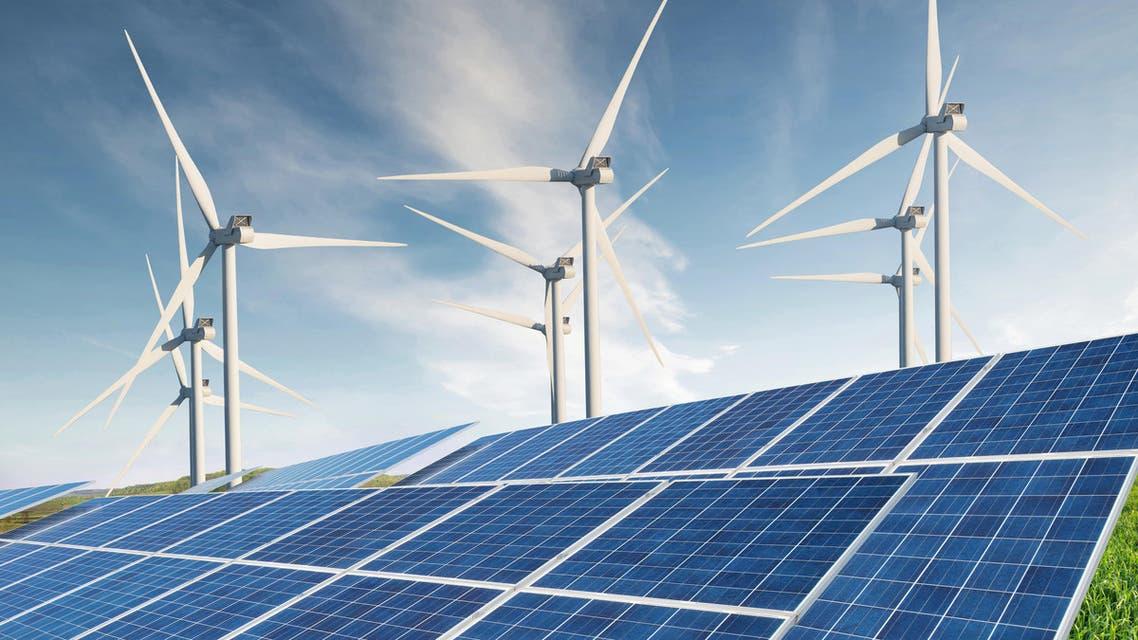 solar panels renewable energy. (Shutterstock)