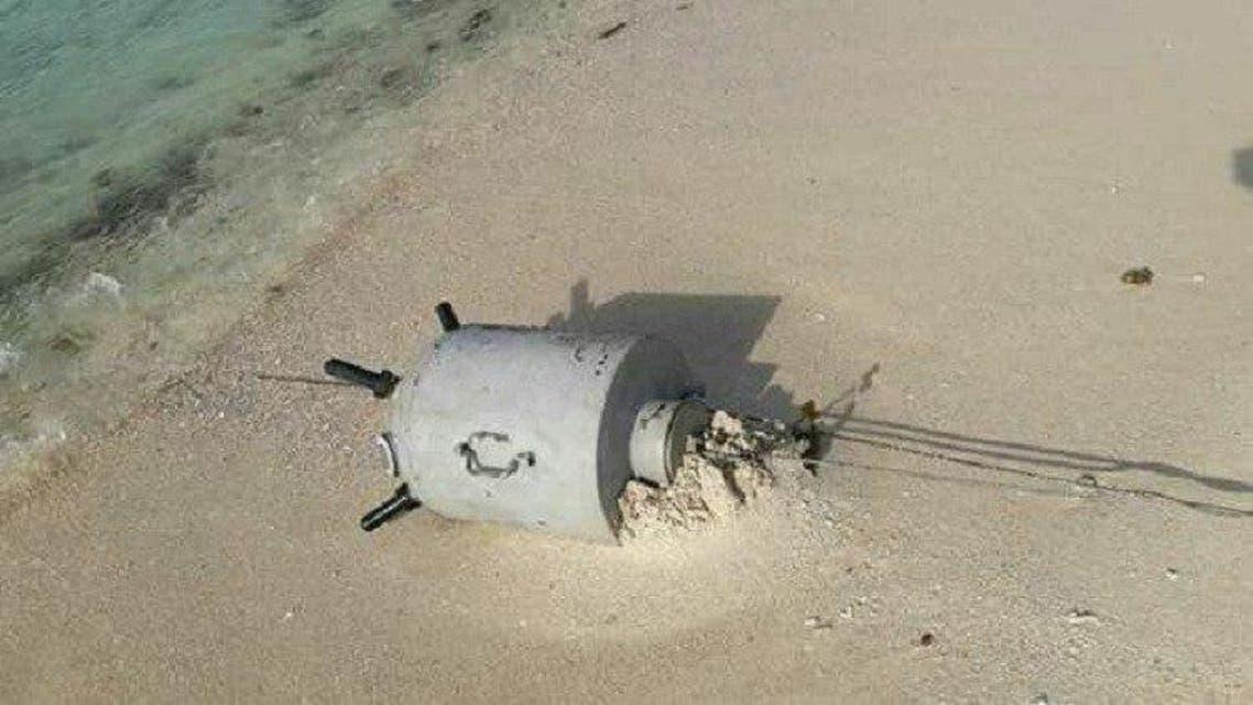 زرع ألغام بحرية ميدي الحوثي