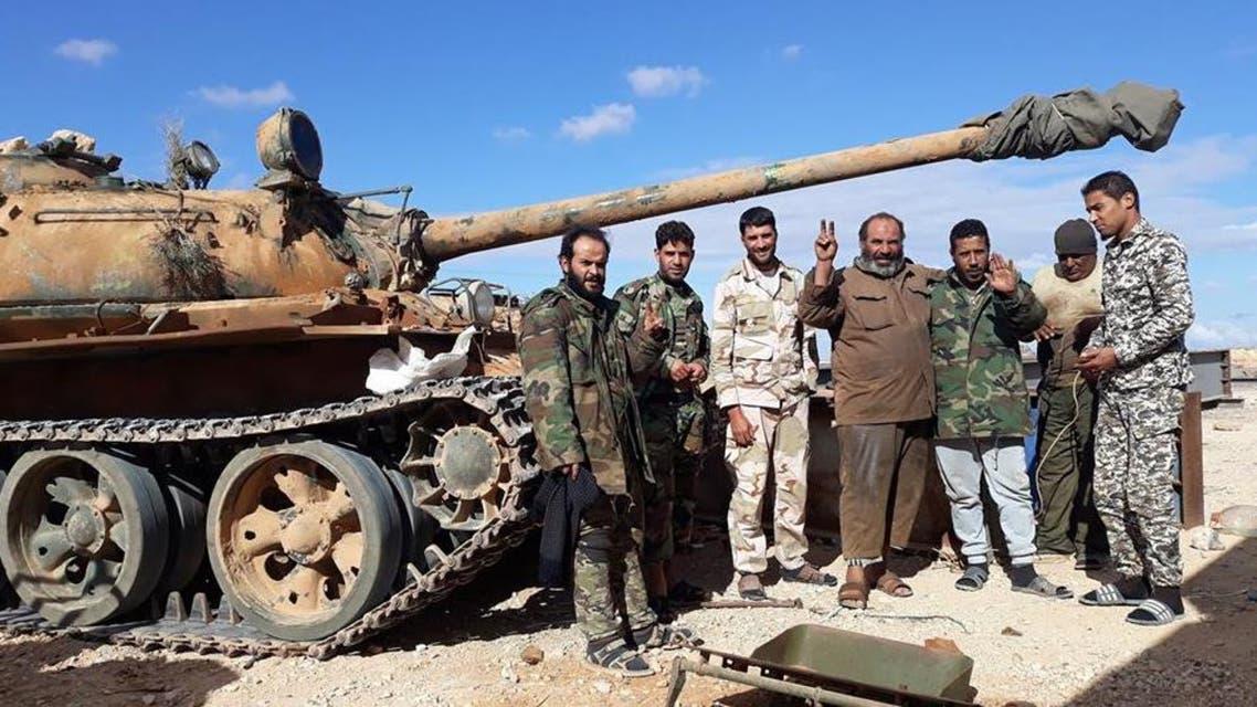 الجيش الليبي يطلق عملية درنة