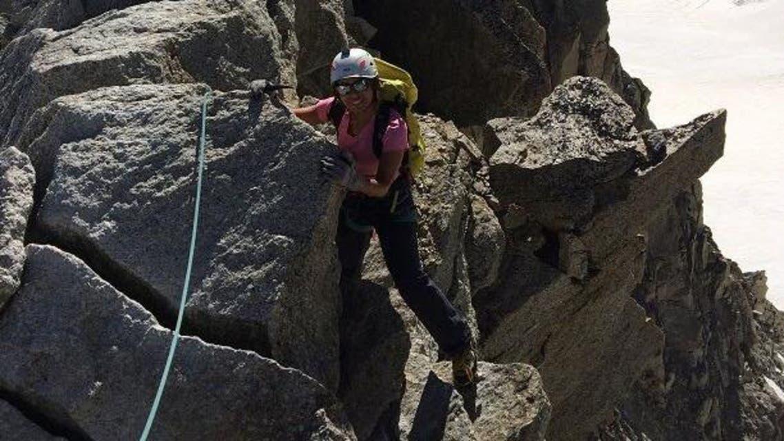 Meet Yasmin al-Gahtani, the first Saudi female rock climbing trainers