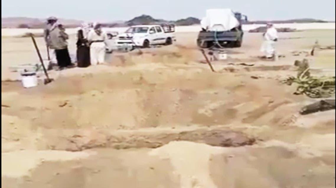saudi car crash. (Photo courtesy: Okaz)