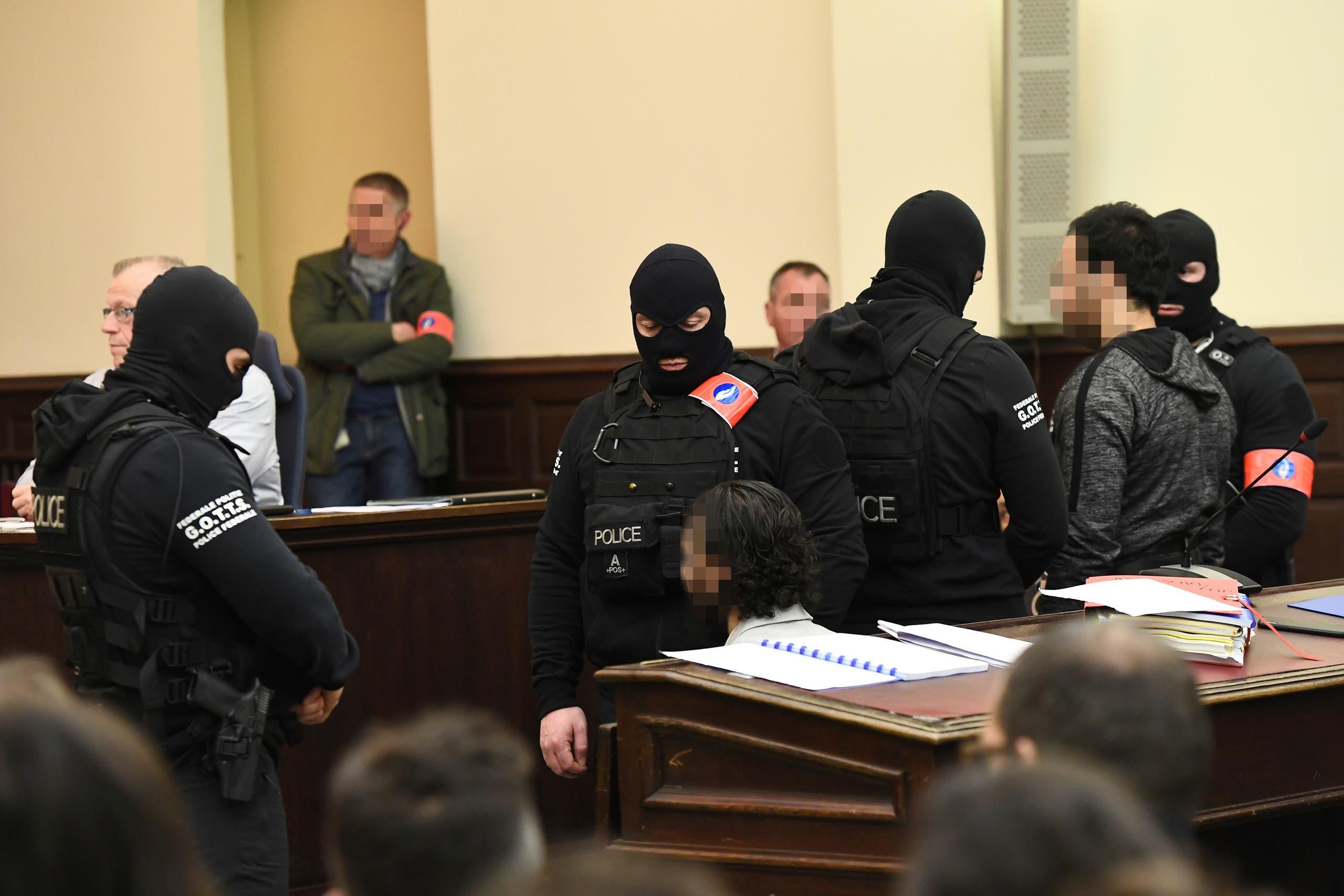Paris attack suspect Salah Abdelslam in trial. (Reuters)