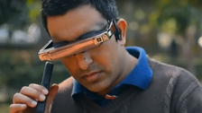 VIDEO: India's blind photographer pushes physical, technological boundaries