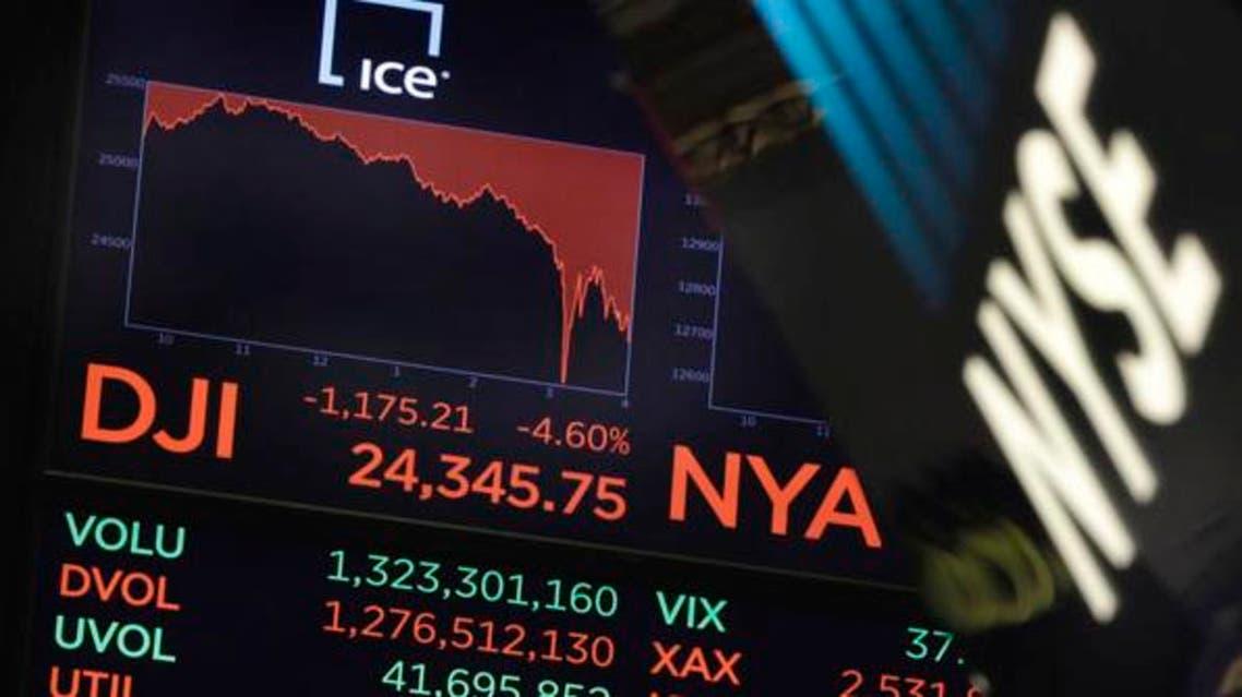 خسائر وول ستريت الأسواق العالمية