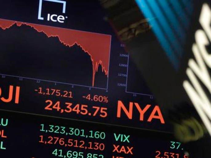 جلسة ذعر بأسواق الأسهم الأميركية