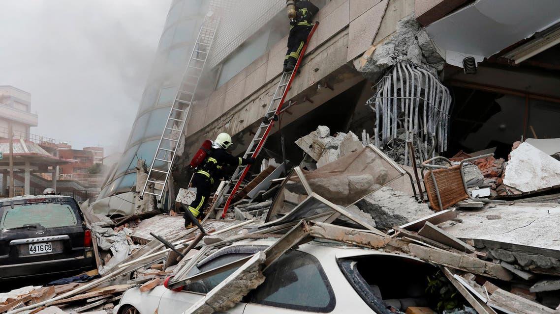 زلزال تايوان