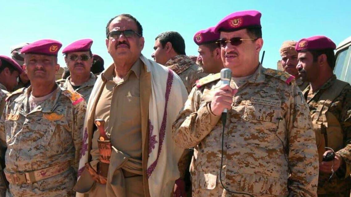 الفريق المقدشي في زيارة لكتائب القوات الخاصة بمأرب