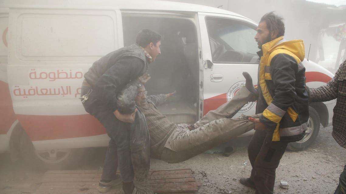 مجازر الغوطة الشرقية