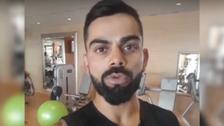 VIDEO: India cricket captain wishes Pakistani umpire on business venture