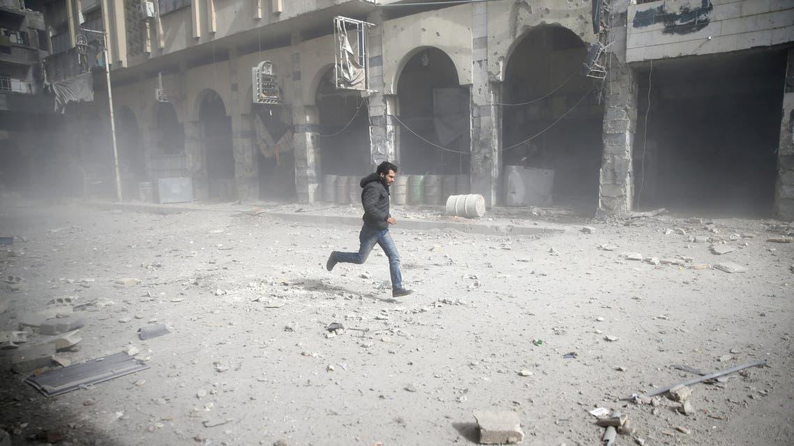 قصف النظام الغوطة الشرقية