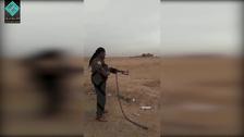 Video shows Kurdish militia leader executing man in Syria's Deir al-Zour