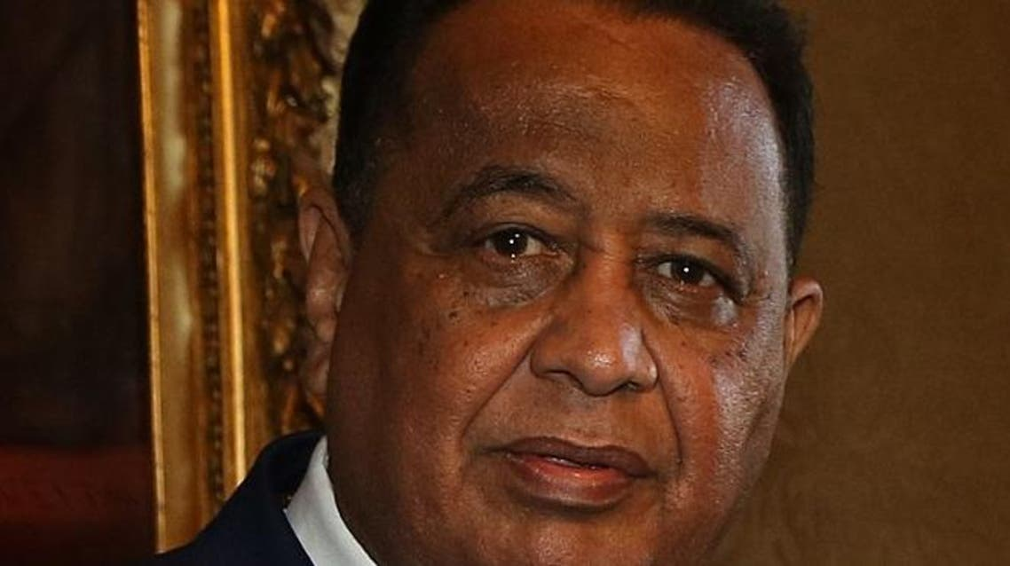 وزير الخارجية السوداني ابراهيم غندور