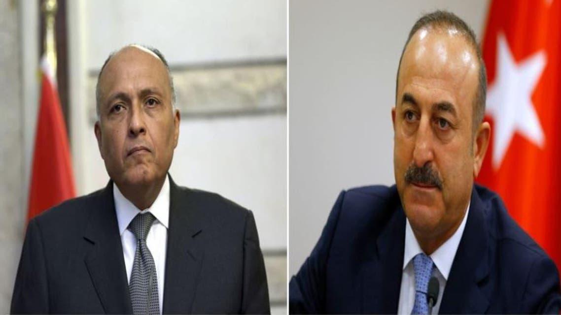وزيرا خارجية تركيا و مصر 3