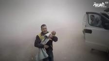 'جب شام میں امدادی کارکن کواپنا ہی بچہ ملبے سے نکالنا پڑا'
