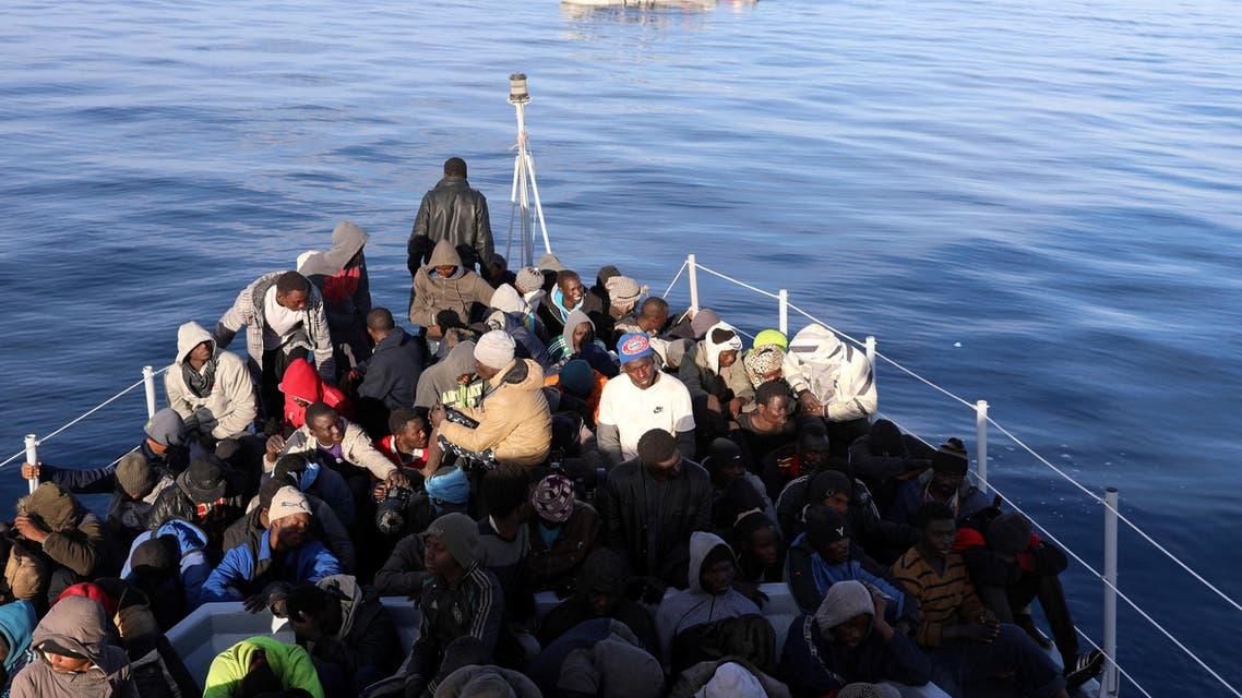 مهاجرون ليبيا