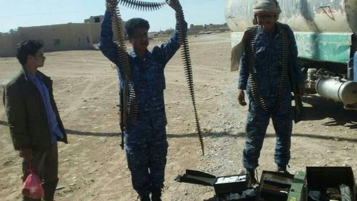 ضبط أسلحة للحوثيين في الجوف