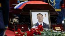 شام میں ہلاک روسی پائیلٹ کی آخری رسوم میں ہزاروں افراد کی شرکت