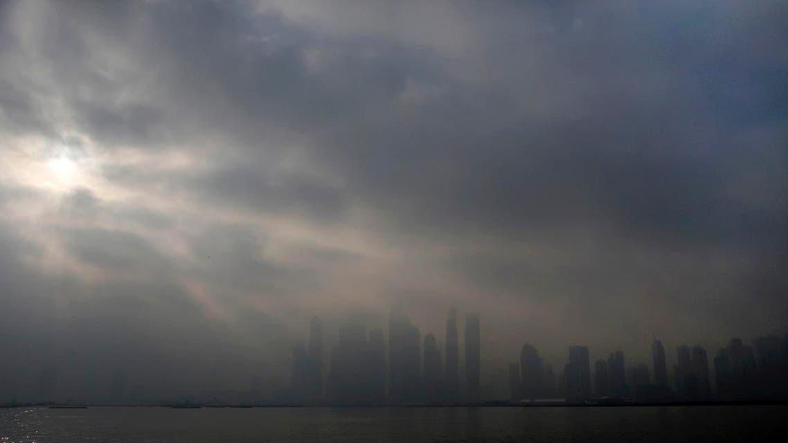 fog dubai (AP)